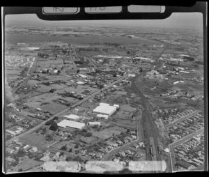 Penrose industrial area, looking Southeast, Auckland