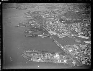 Western Viaduct and Wharf, Auckland City area