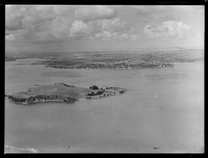 Browns Island (Motukorea), Hauraki Gulf, Auckland