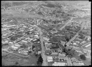Whangarei town centre, looking South