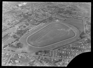 View of Ellerslie Racecourse, Remuera, Auckland City