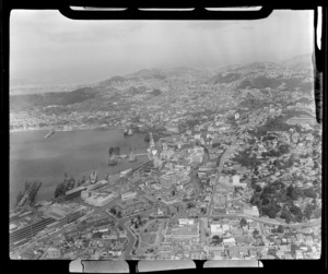 Wellington City, including shipping and wharves