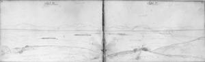 Mantell, Walter Baldock Durrant, 1820-1895 :Leaving plains. Sept 12 [1848]
