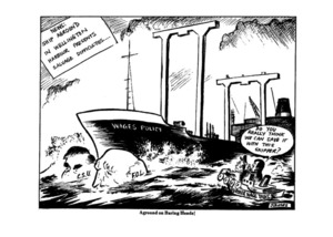 Lynch, James, 1947-:Aground on Baring Heads! 2 June 1981