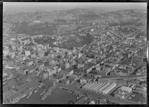 Auckland City, including wharves and shipping