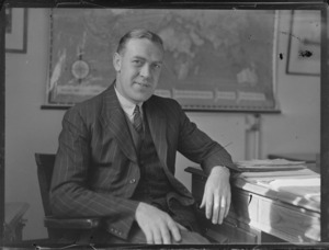 Portrait of Captain Henderson of the British Phosphate Commission