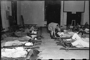 New arrivals, Third New Zealand General Hospital, Bari, Italy, after World War 2