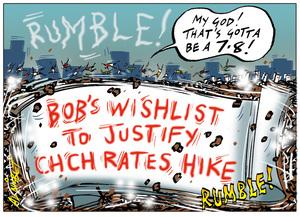Nisbet, Alastair, 1958- :Rates quake. 28 June 2012