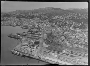 Wellington City, including shipping, railways and housing