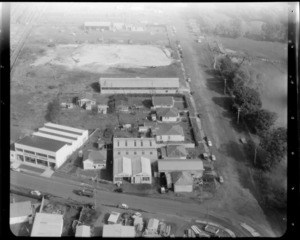 Mt Roskill/Onehunga area, Auckland, with business premises/factories, including South Auckland Hardware