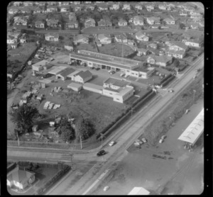 Mt Roskill/Onehunga area, Auckland, including an unidentified business premises/factory