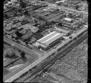 Mt Roskill/Onehunga area, Auckland, by railway line, including G R Young and Co New Zealand Ltd