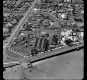 Mt Roskill/Onehunga area, Auckland, including unidentified business premises/factories