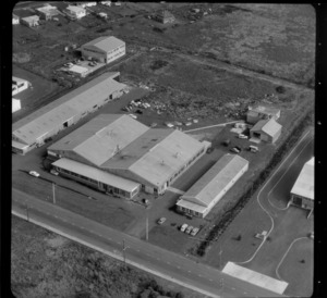 Unidentified factory [Mt Roskill/Onehunga area, Auckland ?]