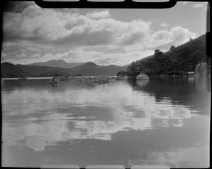 Waikawa, Picton, Marlborough District, including boats