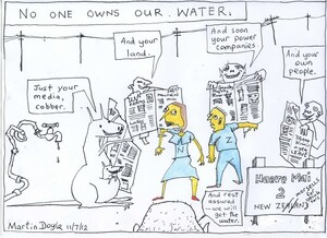 Doyle, Martin, 1956- :No one owns our water. 11 July 2012