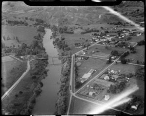 Wairoa River and Frasertown, Hawke's Bay