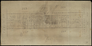 [Creator unknown] :[Tui Street and Barker Street, Te Aro, Wellington] [map with ms annotations]. [1925-41]