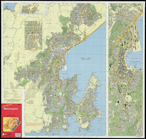 Streetfinder Wellington [cartographic material].