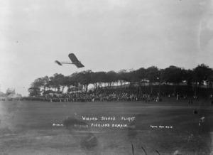 Wizard Stone's flight, Auckland Domain