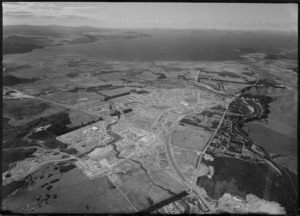 Aerial view of Turangi