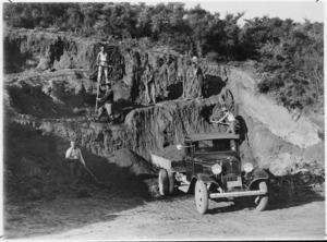 Construction of the Waipapakauri to Spirits Bay Road, Far North district