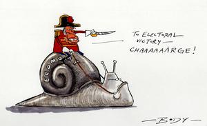 "ECONOMY ""To electoral victory - Chaaaaaarge!"" 18 January 2008"