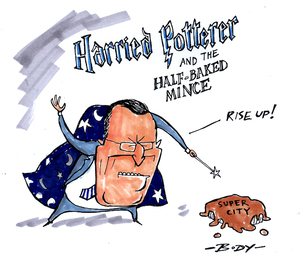 Harried Potterer and the Half-Baked Mince. 12 July 2009