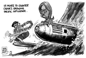 Evans, Malcolm Paul, 1945- :US moves to counter China's growing Pacific influence. 31 August 2012