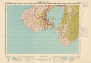 Wellington [electronic resource] / prepared from official surveys and aerial photographs by the Lands and Survey Department.