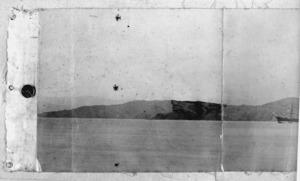 Part panorama of the Wellington City shoreline