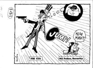 "Brockie, Robert Ellison, 1932- :""JUMP!"" ""How high?"" 28 September 2012"