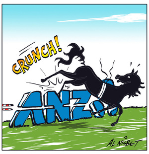 Nisbet, Alastair, 1958- :ANZ. CRUNCH! 27 September 2012