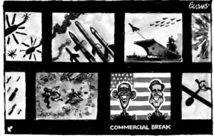 Evans, Malcolm Paul, 1945- :Commercial break. 4 October 2012