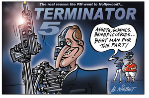 Nisbet, Alastair, 1958- :The real reason the PM went to Hollywood?... 7 October 2012
