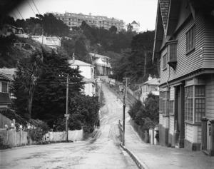 Construction of Weir House, Everton Terrace, Wellington