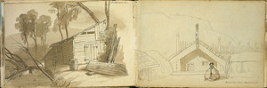 [Ashworth, Edward] 1814-1896 :The Retreat, N. Z. [1843?]
