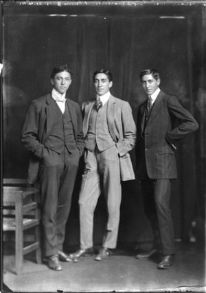 Sons of Lawrence Marshall Grace and Te Kahui Grace
