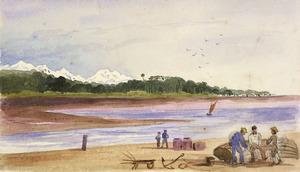 [Fox, William] 1812-1893 :Mt Cook from Hokitika. [1872]