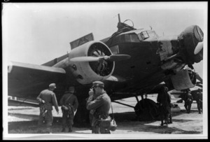 German Junkers Ju-52 aircraft, Greece, during World War 2