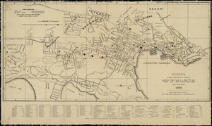 Handy reference street map of Wellington and suburbs, 1909 [cartographic material.