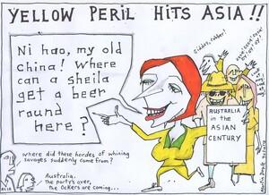 Doyle, Martin, 1956- :YELLOW PERIL HITS ASIA!! 30 October 2012