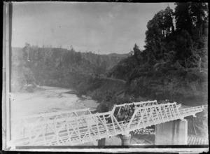 Bridge on Apiti Road, over the Oroua River, Manawatu