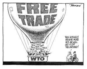 Tremain, Garrick :'FREE TRADE' 16 November 2001.