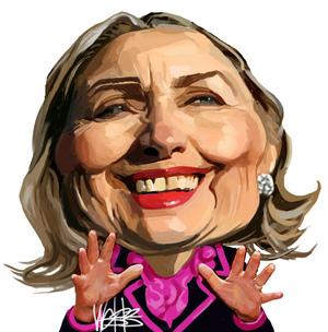 Webb, Murray, 1947- :[Hillary Clinton]. 25 November 2012