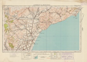 Amberley & Motunau [electronic resource] / compiled from plane table sketch surveys & official records by the Lands & Survey Department.