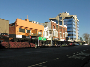 Photographs of Hamilton street views, 2007-2009