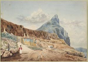Smith, William Mein 1799-1869 :[Scene at Gibraltar. 1832]