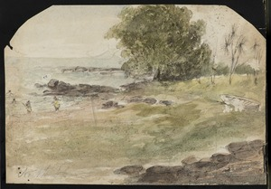 Connell, B, fl 1840-1843. Attributed works: North Shore. [ca 1843]