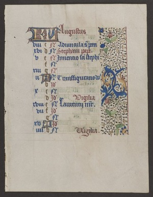Book of Hours [Fragment]